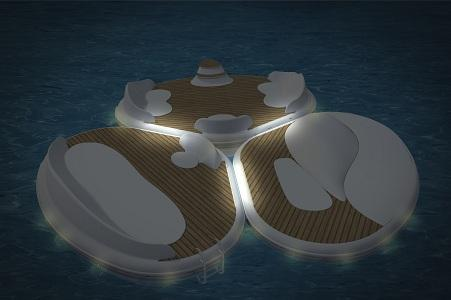 FLOATING ISLANDS - FLOATING PLATFORM - PARADISLAND