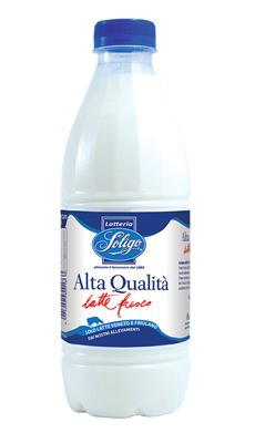 Latte fresco alta qualità