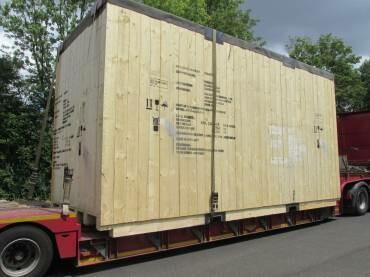 exportfähoge Verpackung