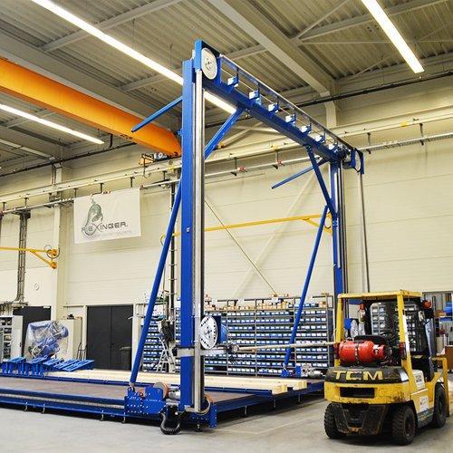 GR-BSM 4000 - für Rohre bis zu  DN4000