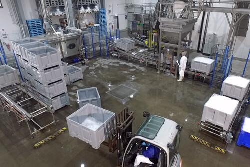Großprojekte und Eisfabriken