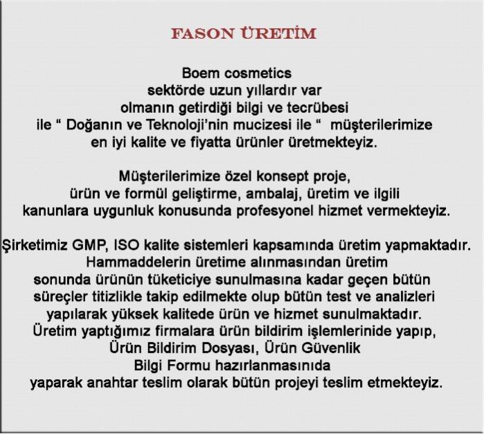 FASON ÜRETİM
