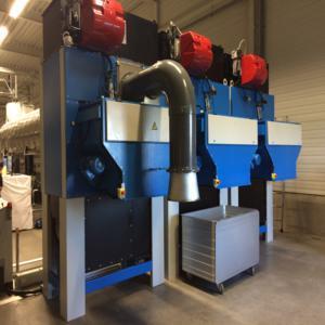 Essiccatoi da 60-80-100-120 kg gas e vapore per asciugare biancheria