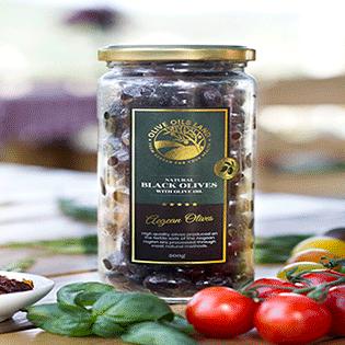 Black Table Olives