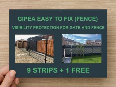 Gipea Easy Fix Optimal Visibility Protection For Gate & Fence