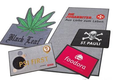 Logo und Werbematten