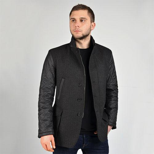 Combined blazer jacket.