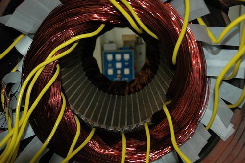 Neuwicklung 250kW Motor