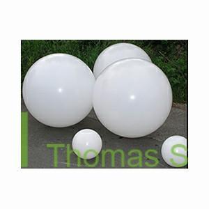 Semi transparent spheres