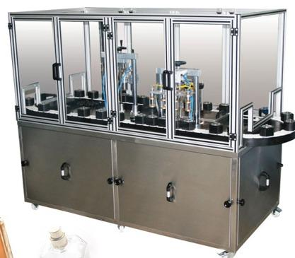 Automatic Glass and Parfume Filling Machine