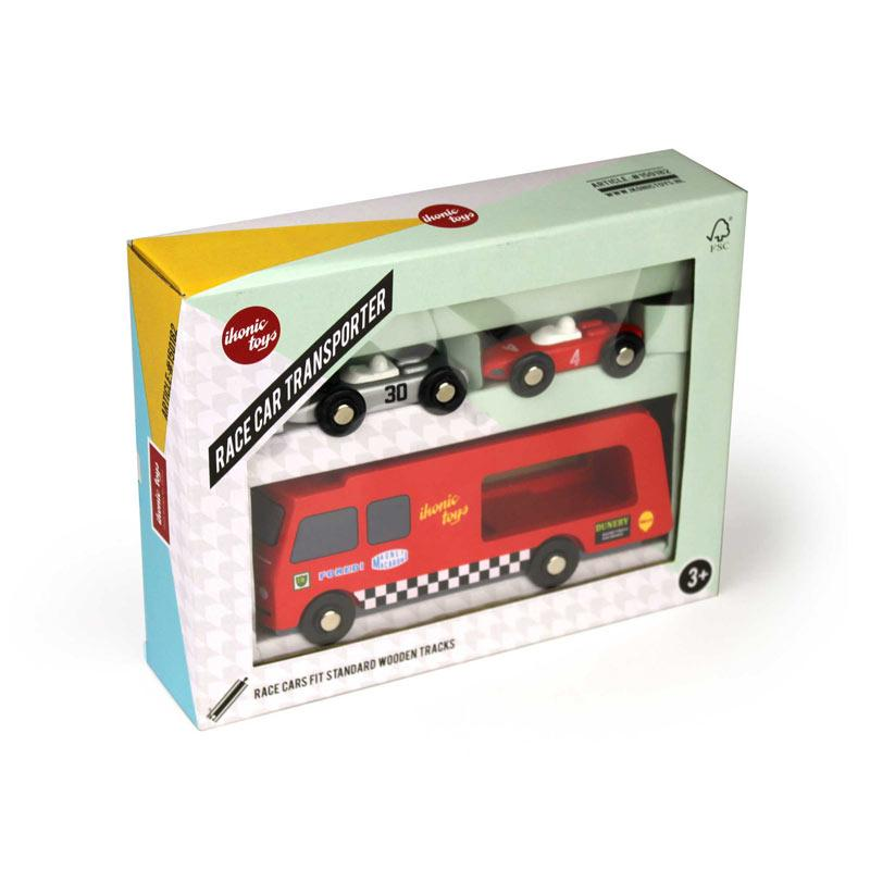 Ikonic Toys Transporter giftbox packaging