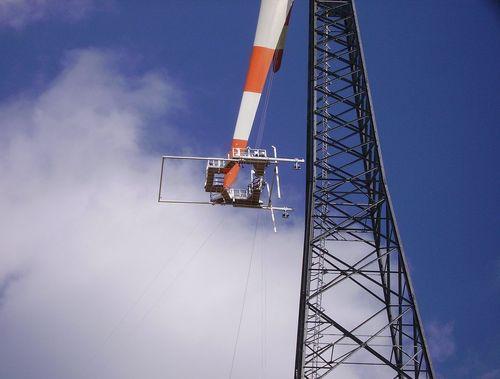 AW IV.0 an einem Gitterturm