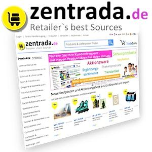 zentrada's online platform offers over 400.000 articles and best wholesale prices from over 500 leading European Importers, Manufacturers and Wholesalers for professional sourcing.