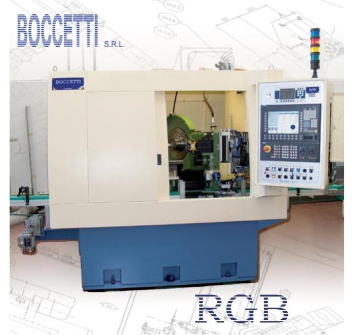 RGB- Rettificatrice senza centri per stelo valvole motore