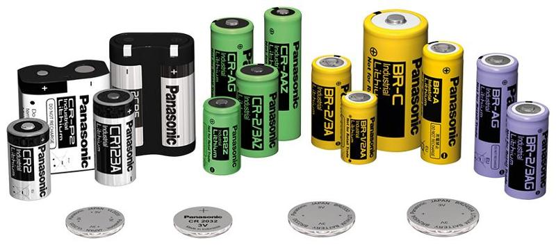 Batteries for industrial use