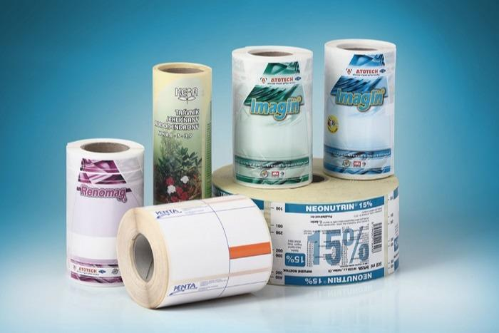 Labels for pharmaceutical and chamical industry