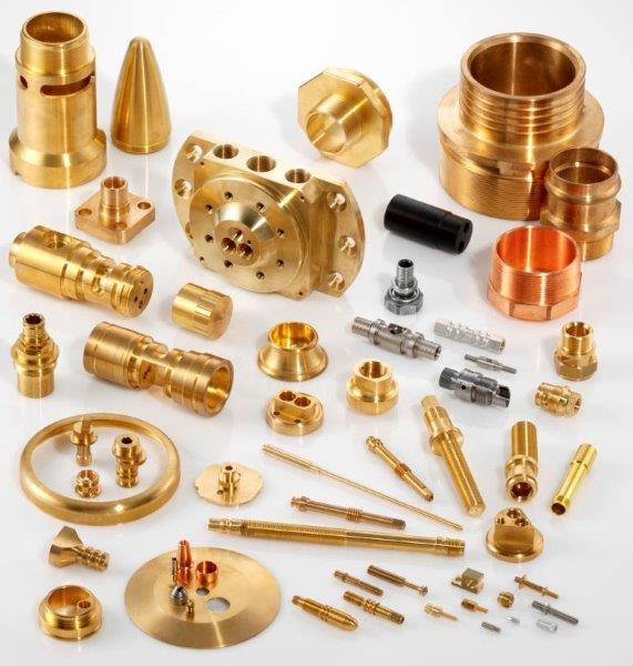 "We produce precise turned and milled parts ""made in Germany"" out of various kinds of raw material (brass, steel, stainless steel, copper, bronze, plastic...)"