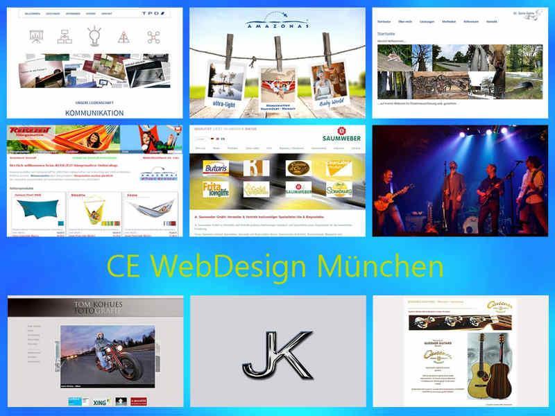 Referenzen | CE WebDesign München