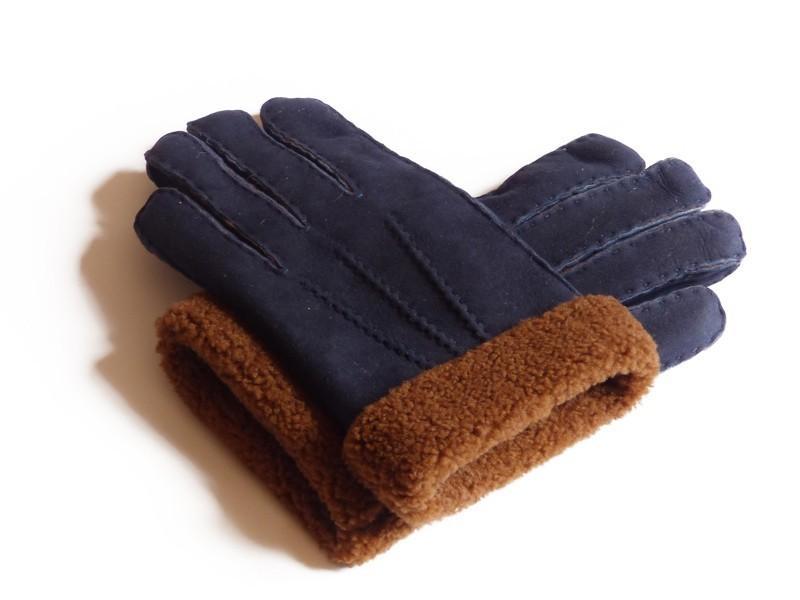 Ce sont des gants en peau lainée(peau de mouton).