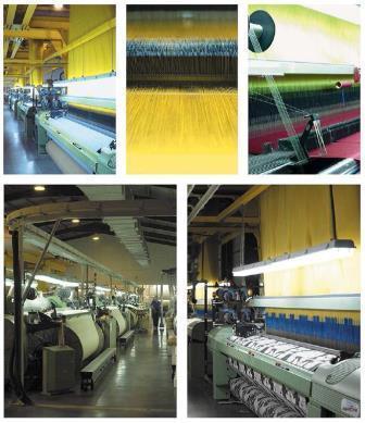Imágenes de los telares de Castilla Textil