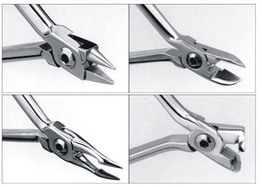 High quality Distal End Cutter T/C, Wire Cutter and Bird Beak pliers.