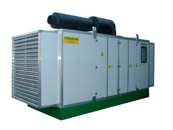 Supersilence 65 dbA Gensets 800 kVA made according customer specifications