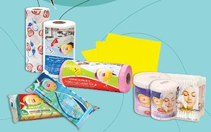 Perforated, delicate, multi - functional cleaning clothes, sponges, scourers, ear buds, cotton pads, cotton