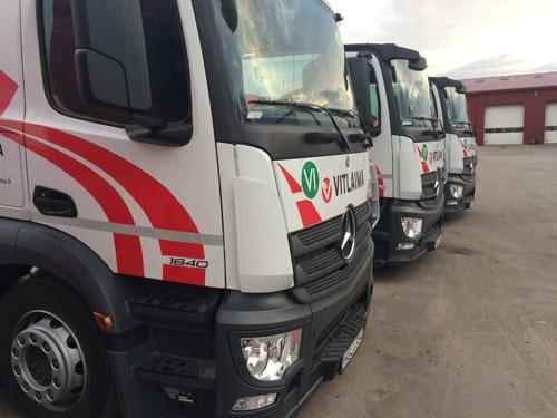 VITLAIMA, UAB main activities are transport services of new and second-hands vehicles locally or internationally.
