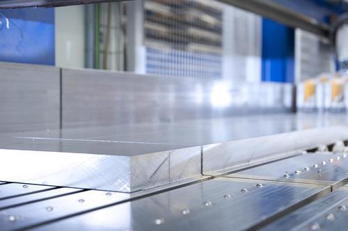 Aluminium plate cuts
