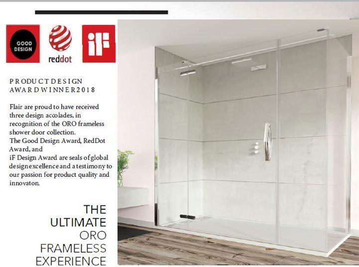 NEW ORO COLLECTION WINNER OF GOOD DESIGN AND IF AWARDS