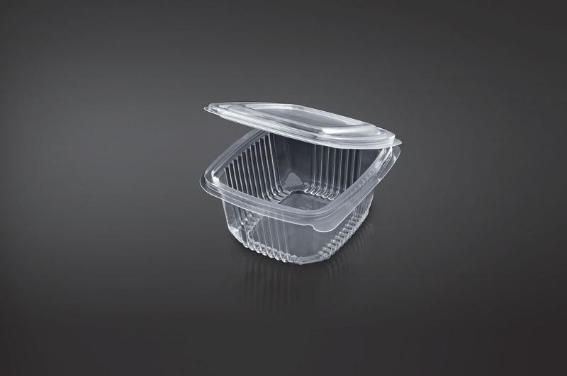 Caixa PP, ideal para levar comida. Take Away. Apta para Microondas.