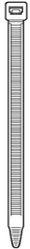 Kabelbinder aus Kunststof
