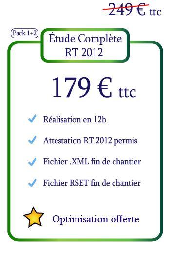 étude complète rt 2012