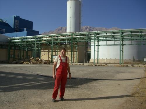 R.Kuhn, IBN einer Ammoniakanlage im Iran