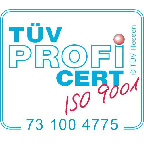 Logo TÜV Profi Cert