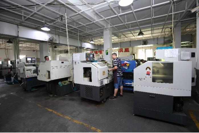 CNC working shop