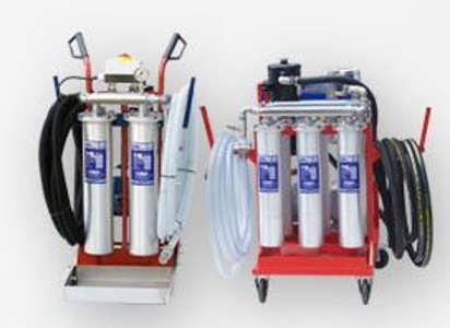 Mobile Tank Cleaning System