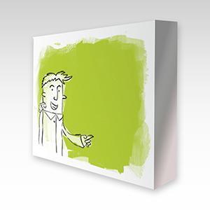 Una de las piezas más habituales para reproducir las obras de los artistas de www.tallerdeartesaniadigital.es. Medidas disponibles: 30x40 xm. 70x40 cm y 85c50 cm. (4 cm. de borde).