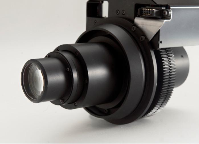 Bildverarbeitung motorisierter Zoom