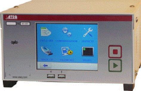 le plus luxueux appareil de contrôle: ecran couleur touch screen, module de mesure Série 6, stabilité et répétabilité de mesure inégalé