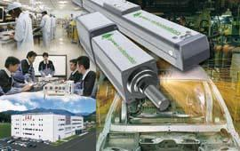 "In 2008, the Japanese market leader for electrical linear axes, IAI, defined the efficient use of energy as one of its corporate goals. All measures are summarised under the slogan ""Green Automation""."