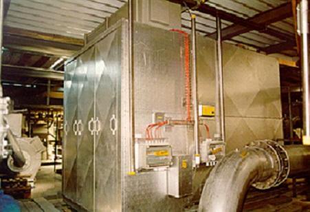 Metal oxide dryer