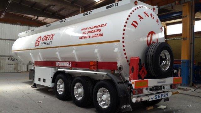 Fuel Tank Semi trailer