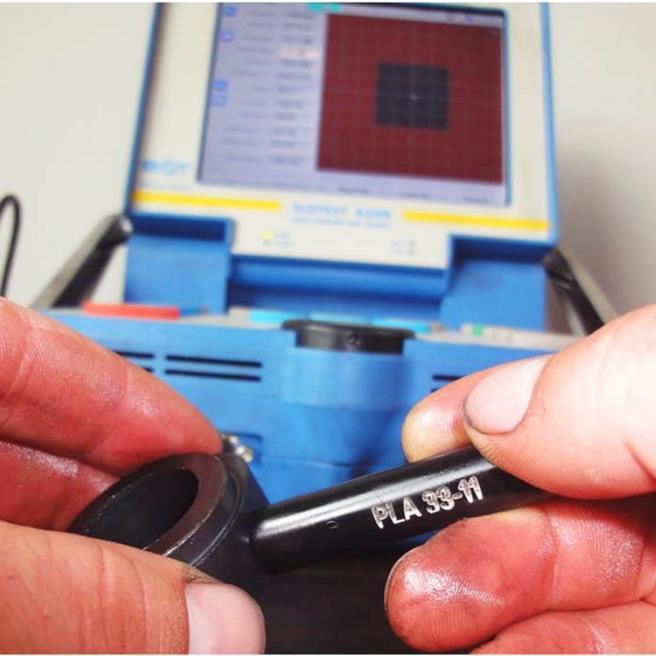 Die Wirbelstromprüfung ist optimal zur Verwechslungs-, Korrosion- und Härteprüfung, wie auch zur Überprüfung einer möglichen Werkstoffverwechslung und bzw. oder Gütebestimmung und Schichtdickenmessung