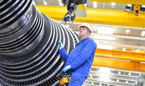 Neuinstallationen von Anlagen und Maschinen