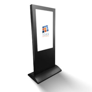 Totem touch screen dynamic