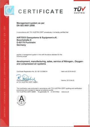 ISO 9001_AIRTEXX