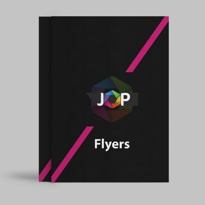 We have flyers available in a range of paper weights, print finishes and quantities.
