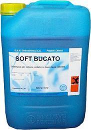 Detersivo super-concentrato per lavaggio ad acqua, adatto per l'utilizzo in lavanderie e lavasecco. Dosaggi molto ridotti e risultati ottimali