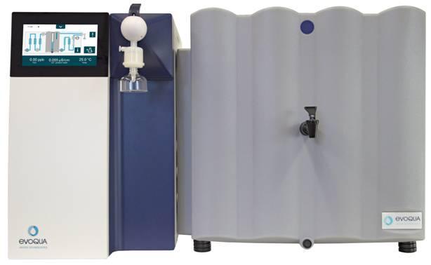 Production d'eau ultrapure à partir d'eau de ville, de 30 à 200 l/j